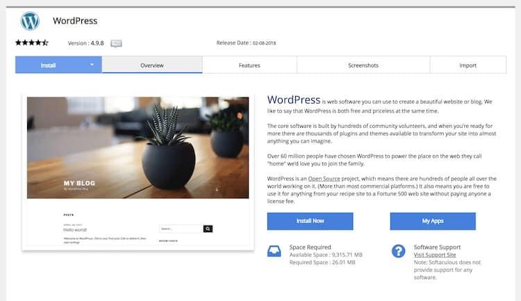 Cara memasang WordPress menggunakan cPanel