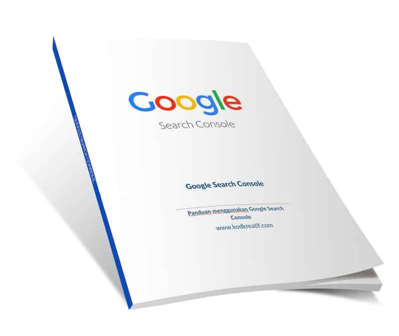 Panduan Google Search Console baharu